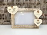 Shabby personalised Chic Photo Frame Auntie Aunty Aunt Great Aunt Any Name Gift - 232993134006
